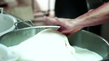 MAKING MOZZARELLA CHEESE