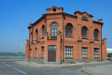 Tomsk, the ancient building of the restaurant