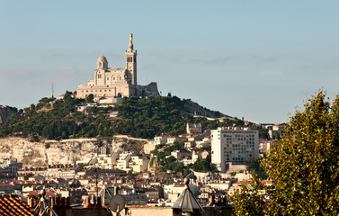 Cityscape of Marseille