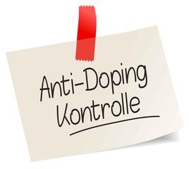 Anti-Doping-Kontrolle