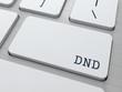 DND. Internet Concept.
