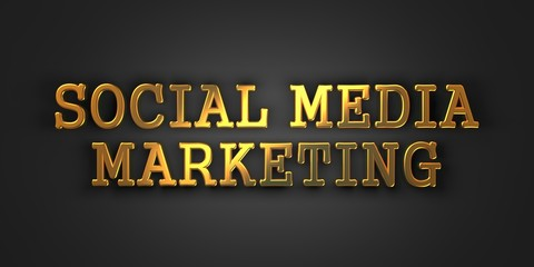 Social Medi Marketing. Business Concept.