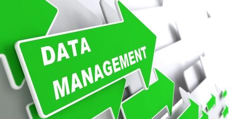 Data Management. Internet Concept.
