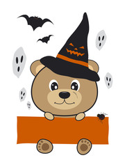 Halloween bear design