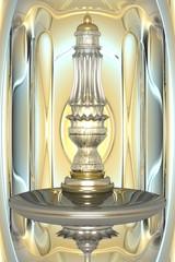 Fábio Prado - Vaso de cristal