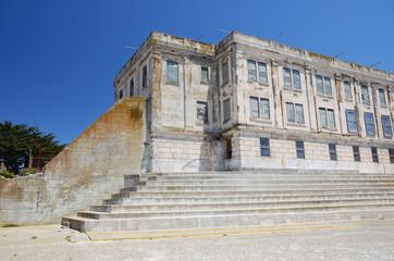 Alcatraz prison block