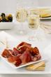 Spanish Cuisine. Serrano Ham. Jamon Serrano.