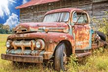Jahrgang 1950 Ford Pickup Truck F5