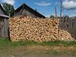 chopped firewood