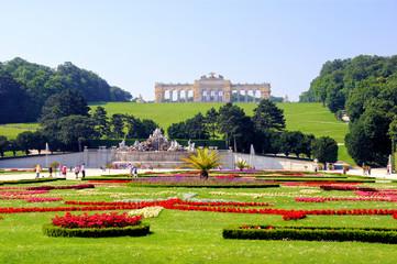 Gardens of Schonbrunn Palace, Vienna, Austria
