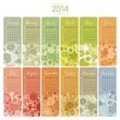 2014 Calendar Set