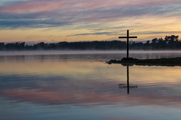 Dawn Lake Cross