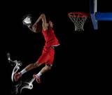 Fototapeta basketball player in action