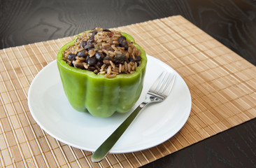 Stuffed Green Pepper