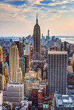 Fototapeta Nowy York - New York City at Dusk © SeanPavonePhoto