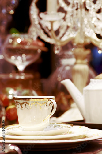 Luxury tea style