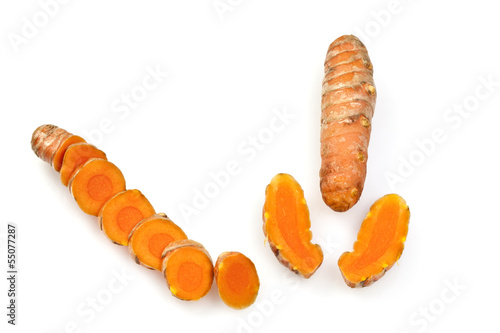 Fresh Turmeric or Curcuma Rhizome