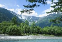 Altas montañas Río Azusa と Fringe (el altiplano)