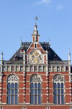 Gare centrale d'Amsterdam Détails architecturaux