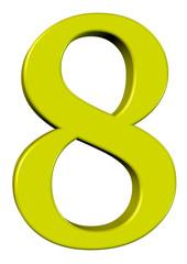 sarı renkli 8