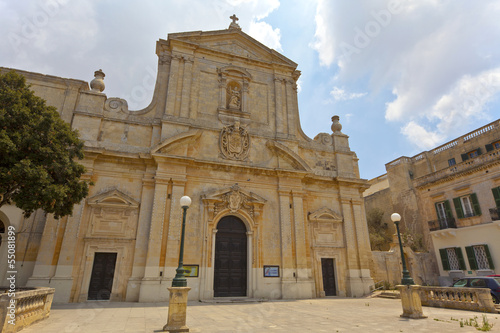St Dominic Church in Rabat, Malta.
