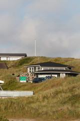 Sondervig DK - traditional house on the beach