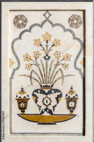 Inlay with semi precious stones (Baby Taj)