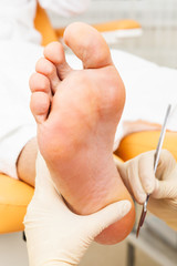 pedicure foot