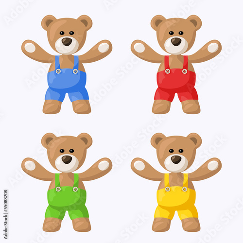 Teddy Bears with Pants