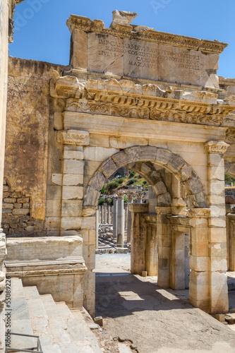Mazeus and Mithridates Gate, Ephesus, Turkey