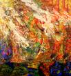 Leinwandbild Motiv Abstract On paper