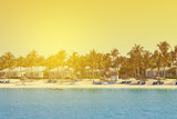 luxury vacation on a tropical island - 55091836