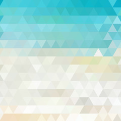 Sunny abstract geometric background
