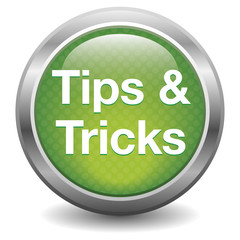 Tips & tricks icon. green