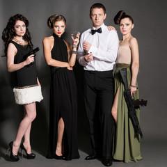agent 007 style