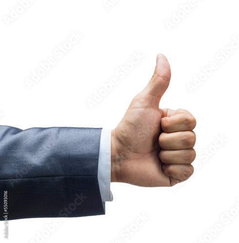 Thumbs up. Like