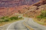 A Twisty Road Through a Canyon poster