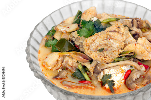 Fish Tom Yam (Thai cuisine)