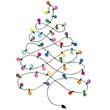 Christmas tree garland - 55093834