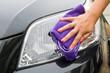 pulizia faro auto