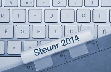 Steuer 2014 Tastatur