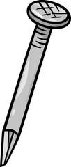 nail clip art cartoon illustration