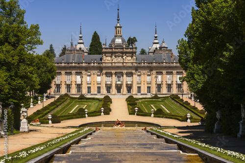 Aluminium Madrid palacio real la granja de san ildefonso