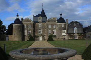 La Bourbansais Castle ou Château de La Bourbansais
