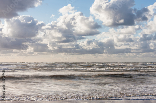 Waves at the North Sea