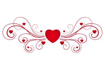 Beautifull valentine hearts