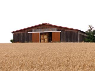 Landwirtschaftliche Lagerhalle