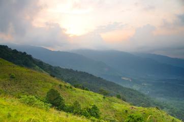 Sunrise at Broga Hill, Malaysia
