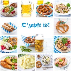 "Oktoberfest Collage  ""O'zapft is!"""