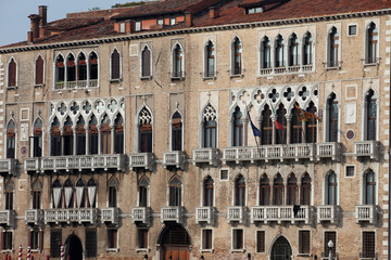 Venice - Exquisite antique building at Canal Grande